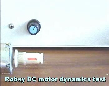 Measuring of the DC motor video